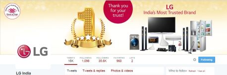 LG decides to thank their consumers for the trust they have shown in the brand over the years